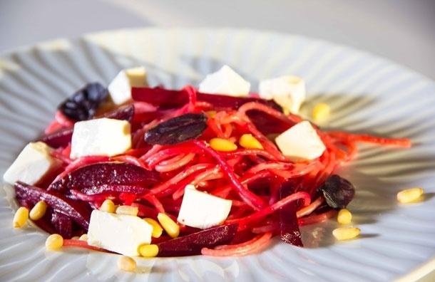 Красные макароны. Рецепт с фото