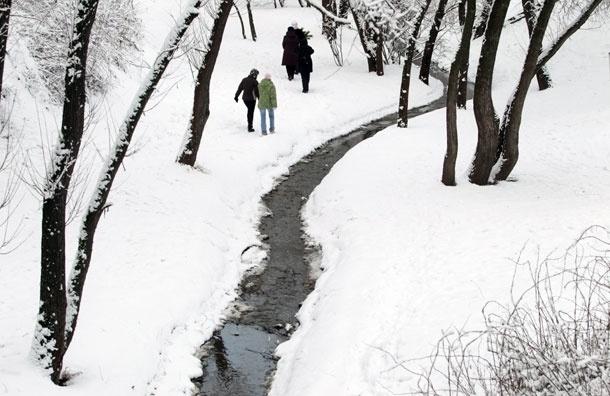Первая декада февраля теплее нормы на 7-8 градусов
