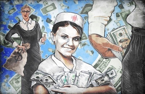 Как в Петербурге богатели (читай - беднели) бюджетники за последние 10 лет
