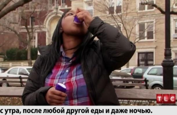 Американка два года питается дезодорантами