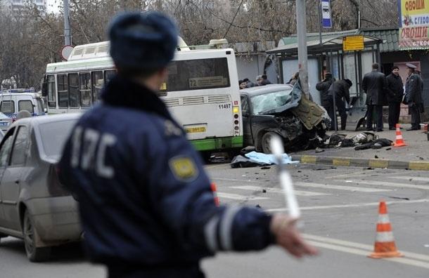 В Москве за день произошло два ДТП с участием женщин водителей