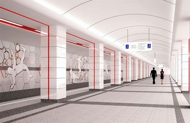 Станция московского метро «Спартак» откроется в марте 2014 года