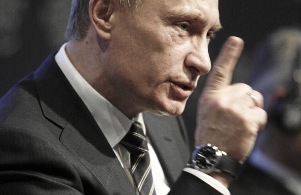 Путин запретил чиновникам иметь счета за границей