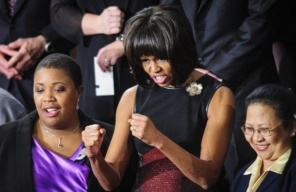 Ролик с танцем Мишель Обамы стал хитом YouTube