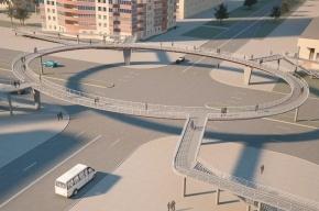 Строительство надземных переходов на проспекте Славы почти заморожено
