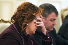Экс-министр Елена Скрынник явилась на допрос в МВД