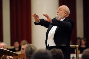 Кшиштоф Пендерецкий дал концерт в Петербурге