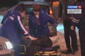 ДТП на площади Мужества в Петербурге устроил пьяный водитель