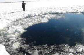 Появились фото метеорита, упавшего в Челябинске 15 февраля