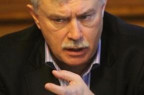Депутаты перевели Полтавченко на голый оклад