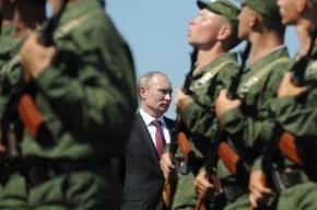 Путин пообещал не увеличивать срок службы в армии