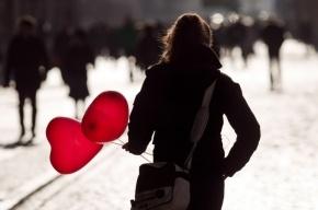 В День святого Валентина 70% россиян не одиноки - опрос