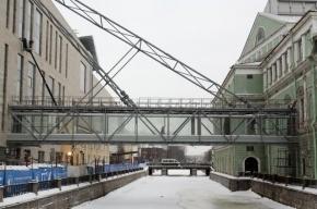 Здание Мариинского театра придется реконструировать из-за моста в Мариинку-2