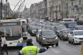 Камеры видеофиксации нарушений ПДД появятся на Невском проспекте