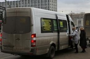 В Петербурге водители маршруток за рулем смотрят фильмы
