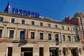 С Невского убирают всю крупноформатную рекламу, кроме букв «ГАЗПРОМ» на Садовой