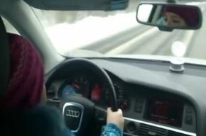 Родители восьмилетней гонщицы на Audi ранее были судимы