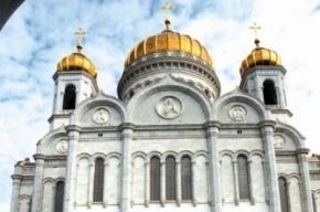 В годовщину панк-молебна Pussy Riot в храме Христа Спасителя провели новую акцию