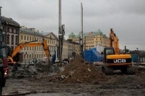 Жители Васильевского острова не могут спать из-за строительства «Спортивной-2»