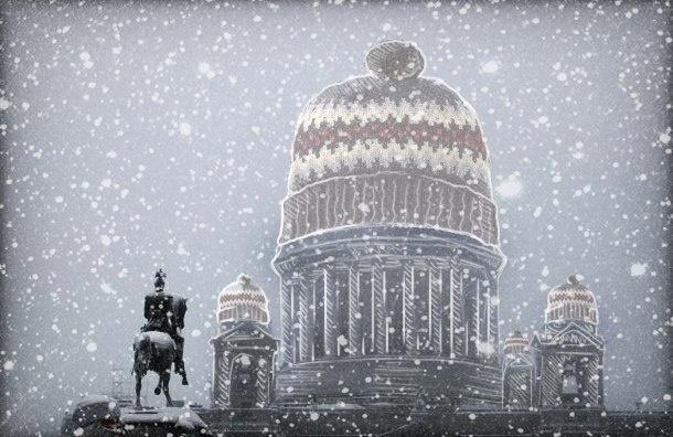 Неделя в Петербурге будет пасмурной и снежной
