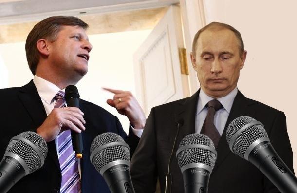 Встреча петербуржцев с послом США как пародия на встречу с Путиным