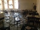 Школа искусств, рухнул потолок: Фоторепортаж