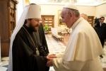 Фоторепортаж: «Митрополит Илариона и Папа Римский»