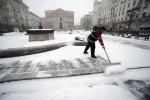 Снегопад в Москве в марте 2013: Фоторепортаж