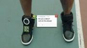 Говорящие кроссовки Google - фото: Фоторепортаж