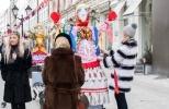 Фоторепортаж: «Масленичные куклы в Москве»