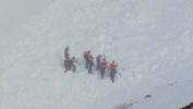 Лавина в Туве - поиски подростков: Фоторепортаж