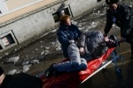 Фоторепортаж: «Упал лед, падение льда на Лиговском, Московский вокзал»