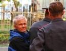 Юрий Пиотровский облил краской иконы: Фоторепортаж