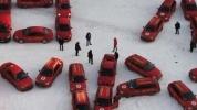 8 марта поздравление из такси: Фоторепортаж