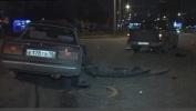 Фоторепортаж: «На проспекте Славы пикап столкнулся с «Жигули»»