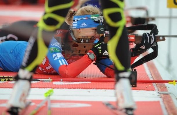 Биатлон. Ольга Зайцева - вторая на Кубке мира в Сочи