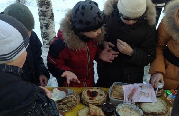 «Масленица в моем дворе» прошла на Новоалекссевской улице. Рецепты и фото