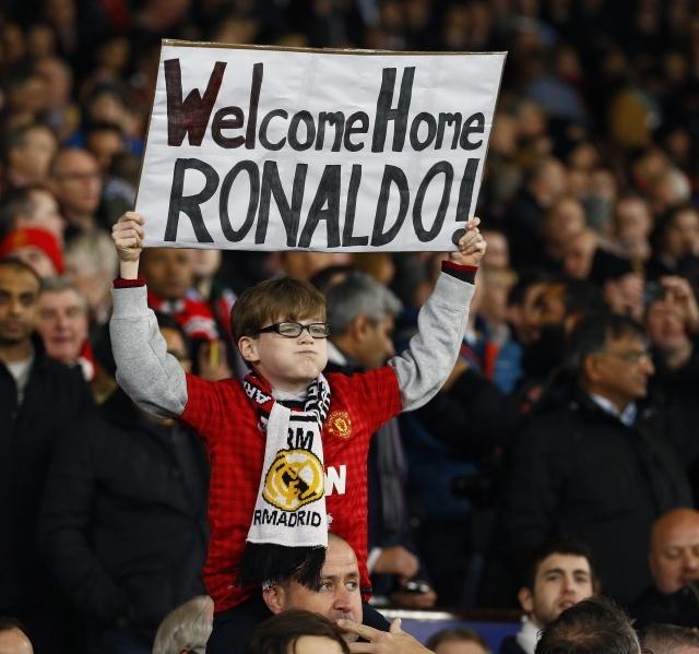 """Лига Чемпионов. 1/8 финала. """"Манчестер Юнайтед"""" - """"Реал"""" 1:2: Фото"""