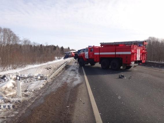 Авария Вологодская область, 28 марта: Фото
