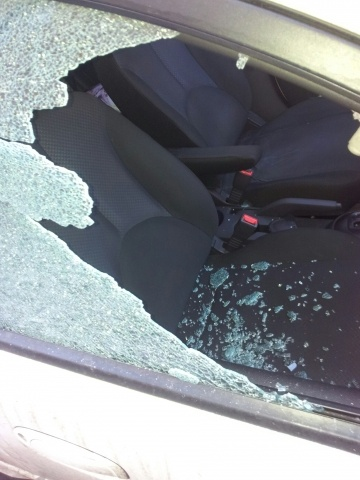 Обстрел машин в Коломне: Фото