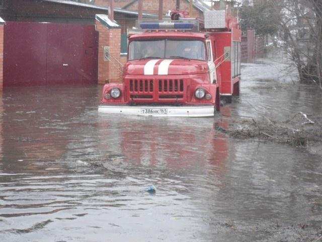 Наводнение в Ростовской области: Фото