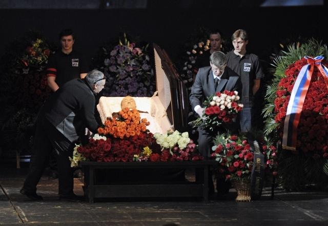 Похороны Панина на Троекуровском кладбище
