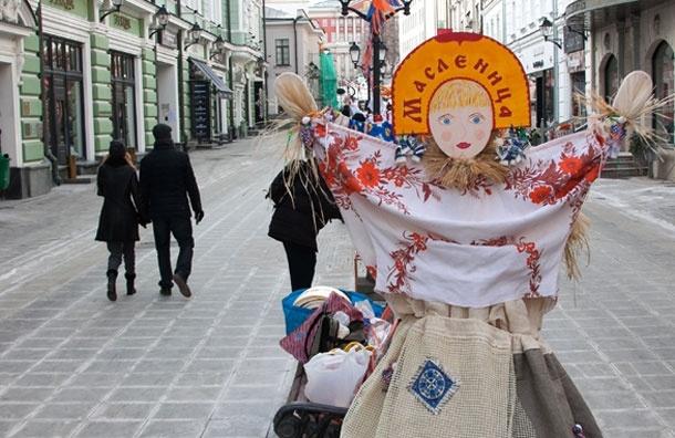Масленичные куклы в Москве: Фото