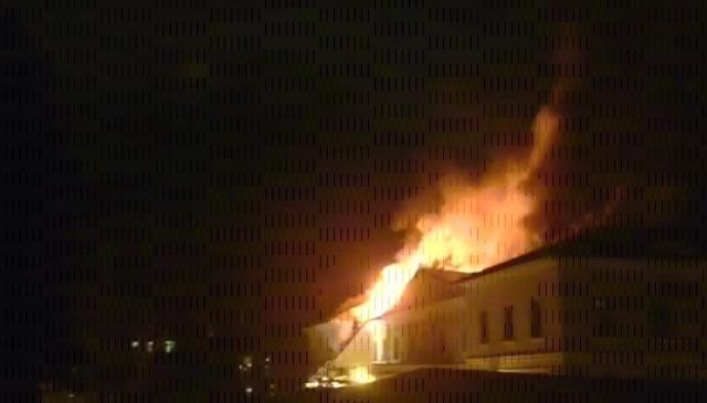 пожар в ГИТИС : Фото