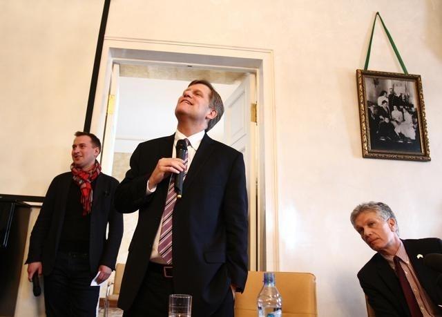 Майкл Макфол в Петербурге: Фото