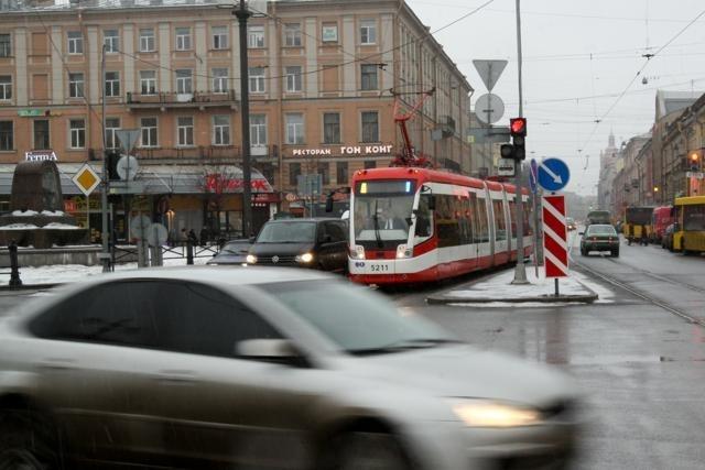 Трамваи, Садовая улица: Фото