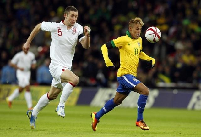 Товарищеский матч Бразилия - Англия: Фото
