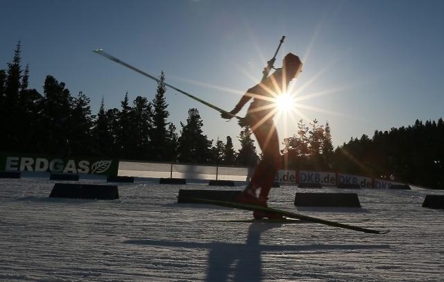 Биатлон, кубок мира, Ханты-Мансийск, женский спринт 14 марта: Фото