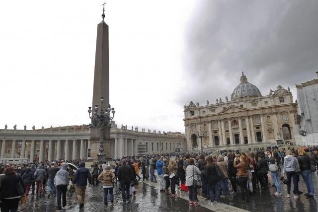 Конклав в Ватикане: Фото