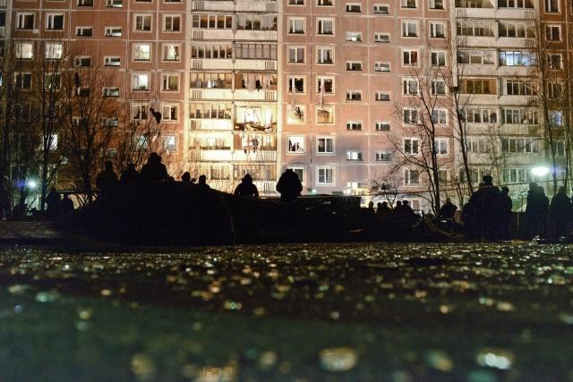 Взрыв газа в Петербурге 22 марта на Наставников, 6: Фото